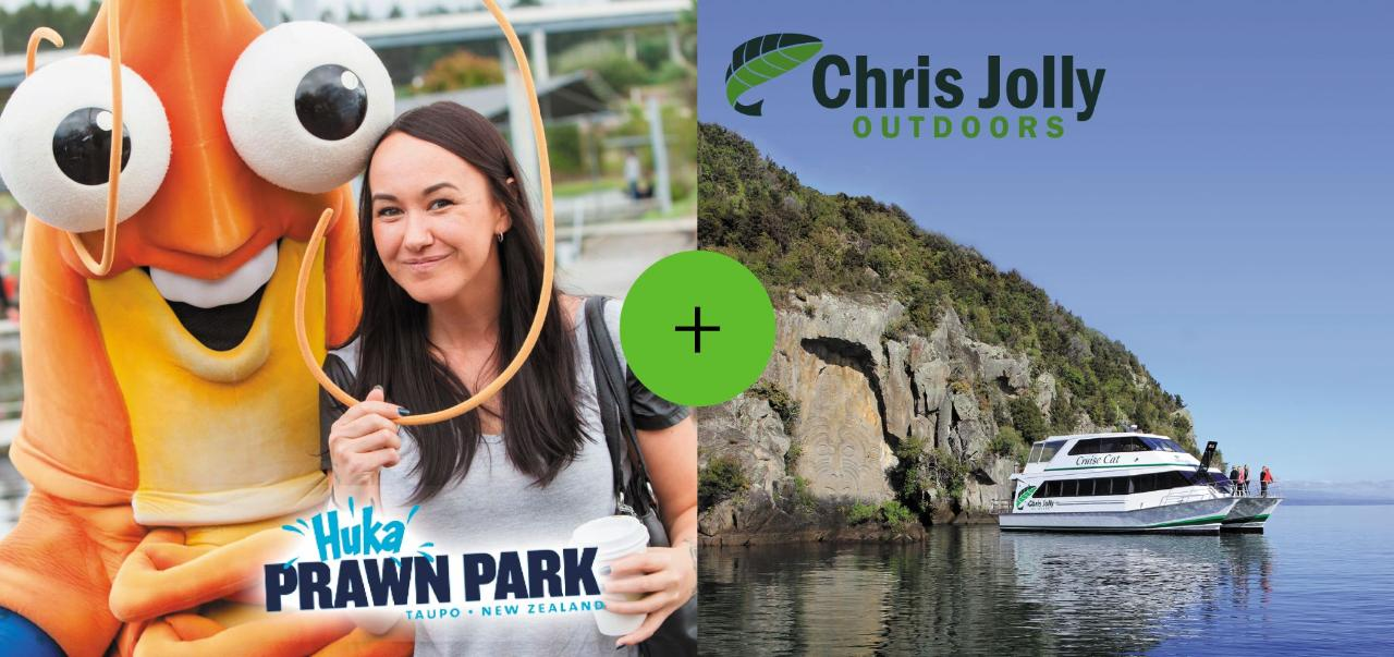 Discount Ultra Pass - Lake Taupo Cruise & Prawn Park Entry