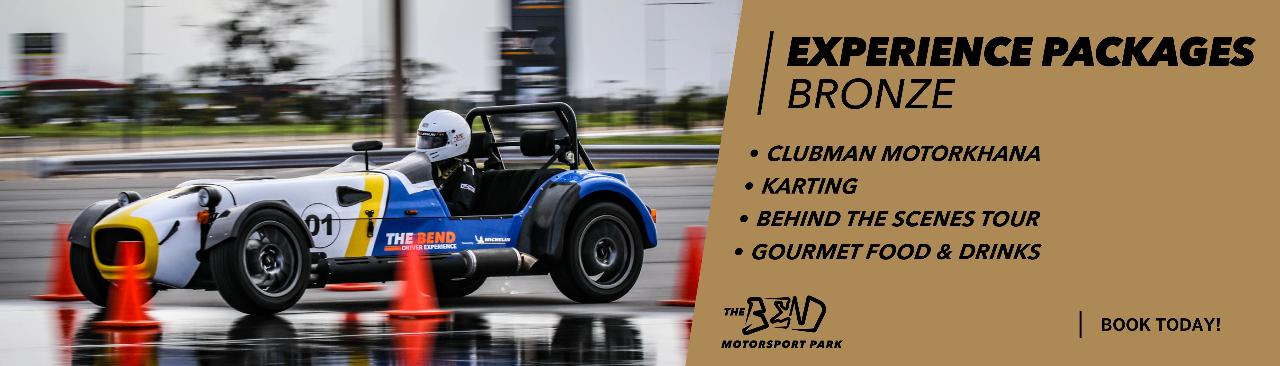 Experience Packages - BRONZE (CLUBMAN)