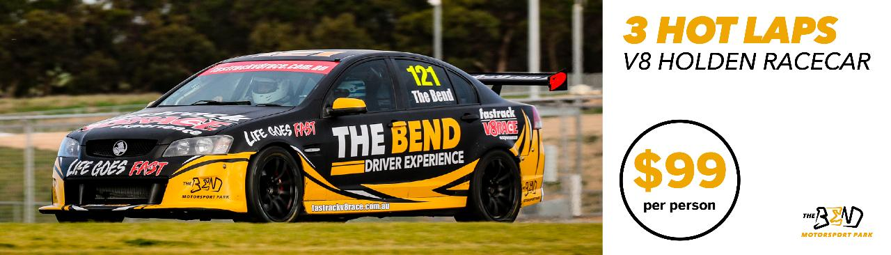 V8 Holden Hot Lap Experience