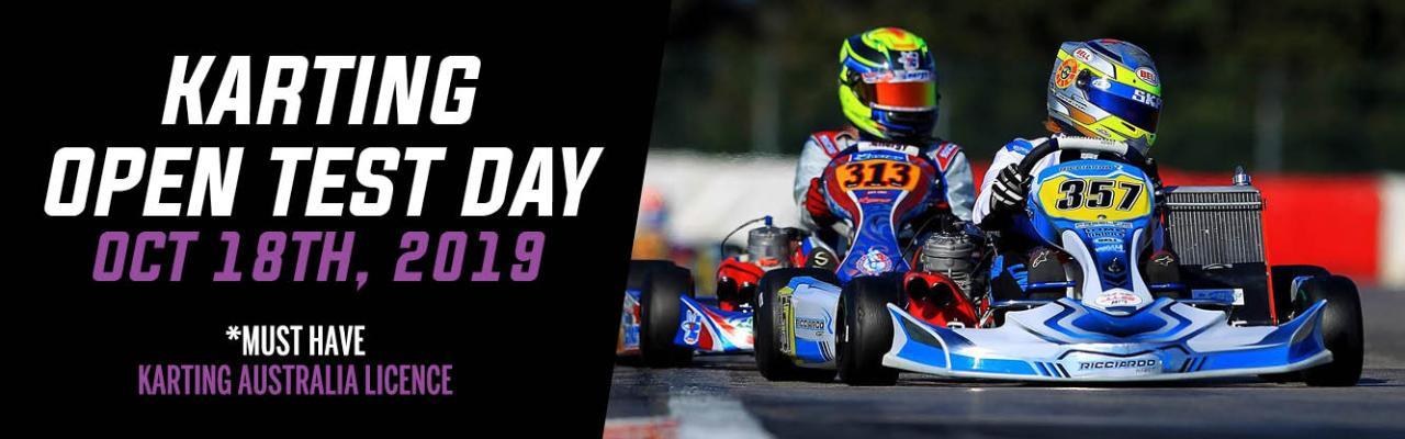 Go Kart Open Practice Day