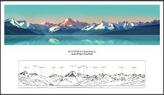 The Mt Cook Panorama Fine Art Print