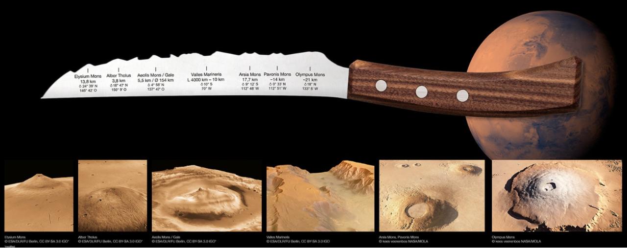 The Mars Universal Kitchen Knife