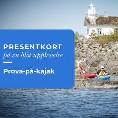 Presentkort prova-på-kajak
