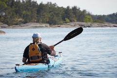 Kayak solo touring - Läckö