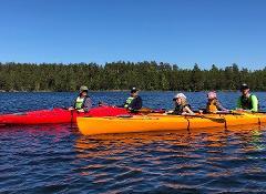 Kayak triple 3-seater - Läckö