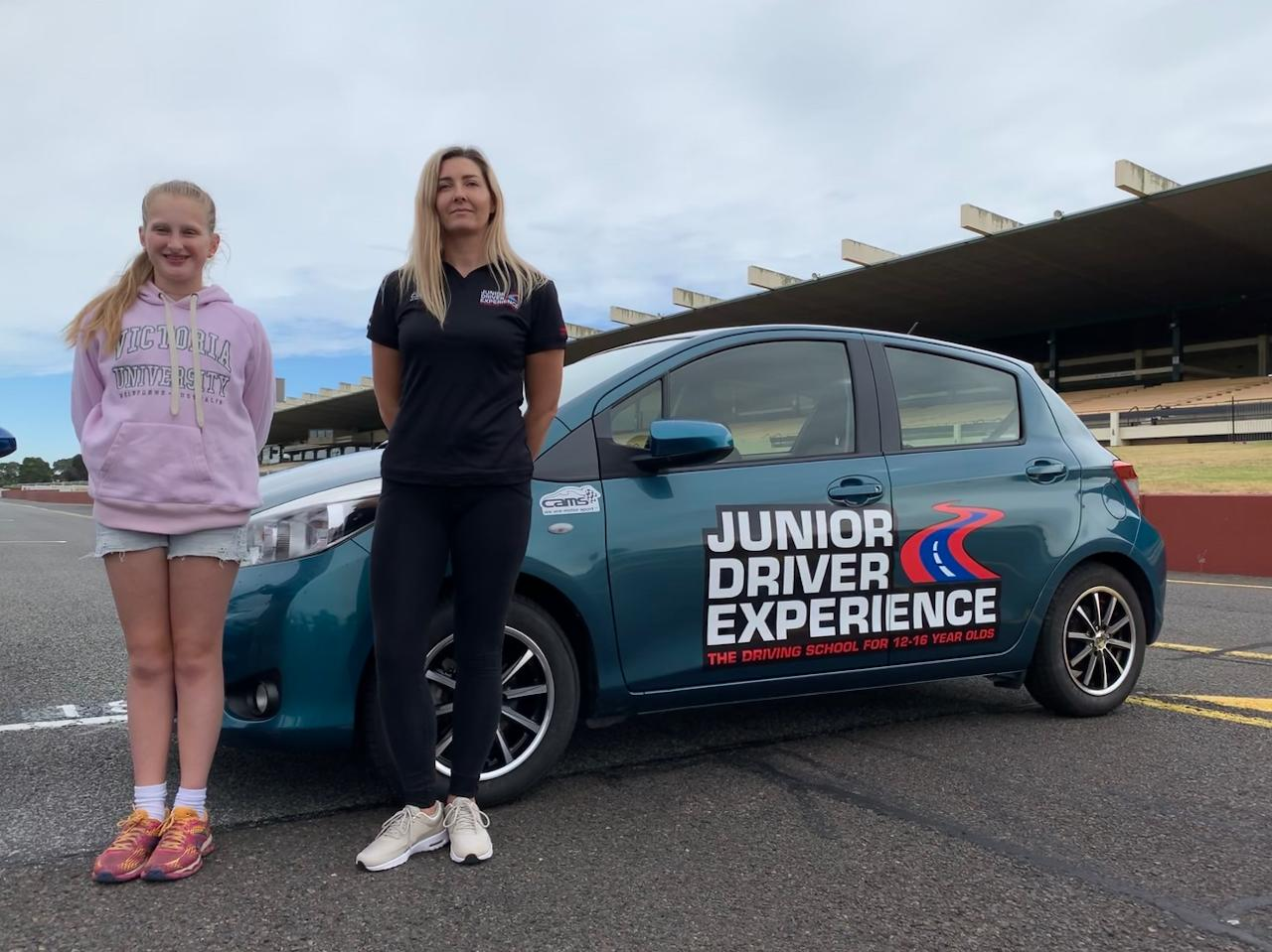 JUNIOR DRIVER EXPERIENCE