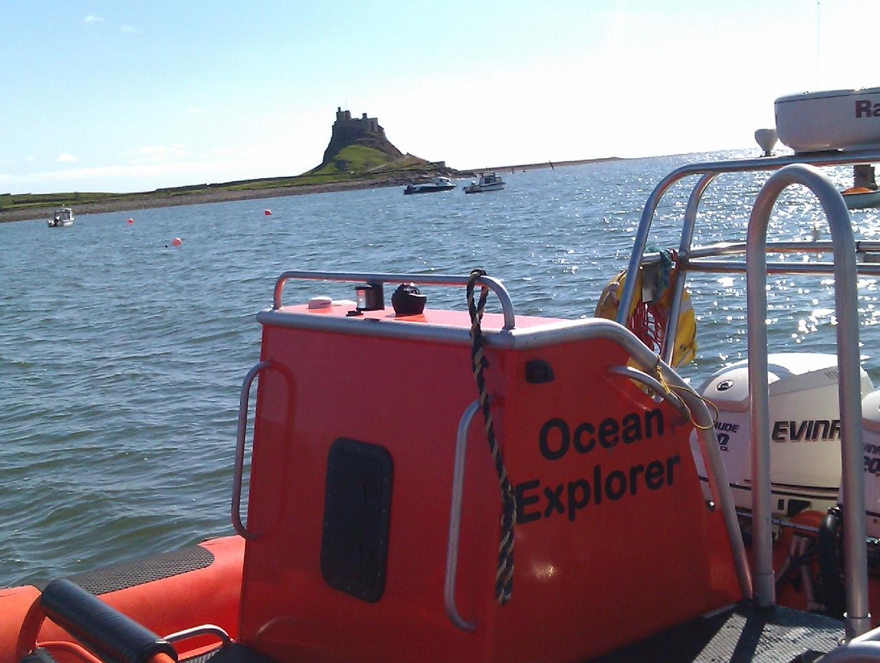 HOLY ISLAND WITH OCEAN EXPLORER