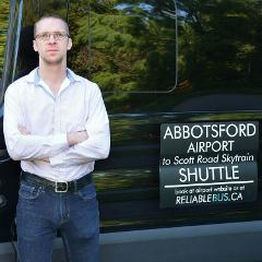 Abbotsford International Airport (YXX) to Scott Road Skytrain Station