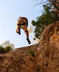 Special Trekking with abseil and beach stop