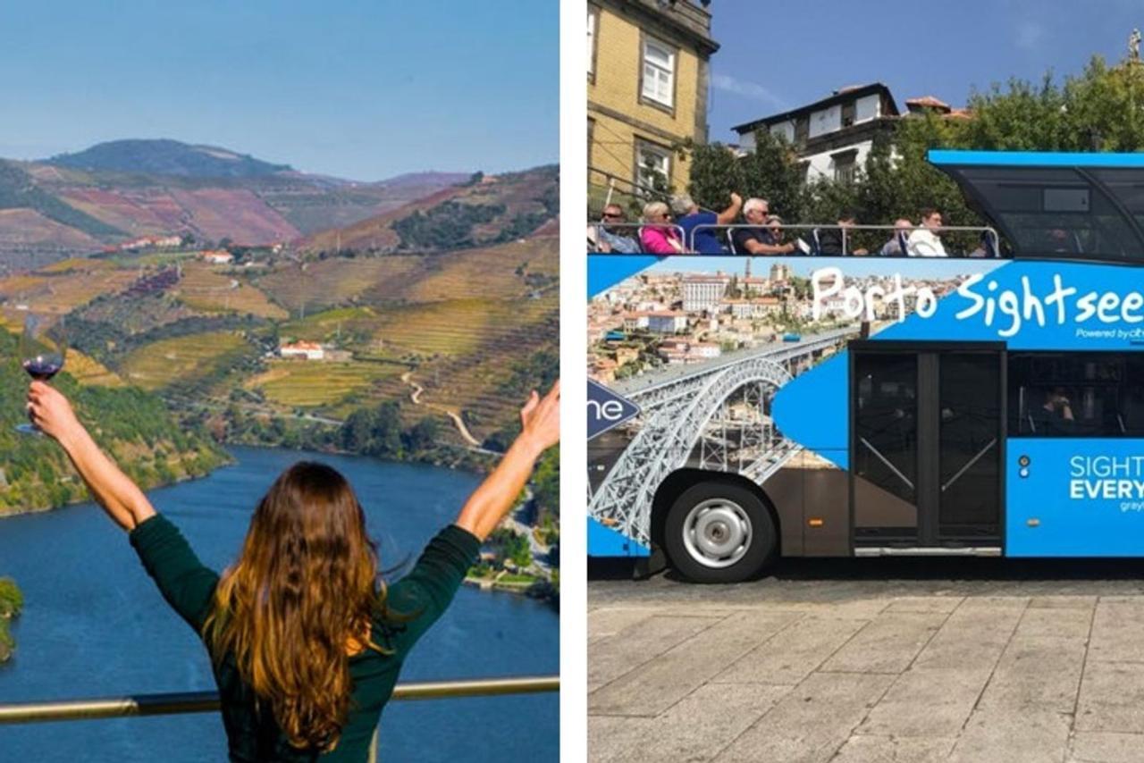 Douro Valley Tour & FREE TICKET to Hop-off Hop-On Porto