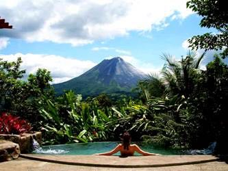 Pure Trek Canyoning and Volcano Hike, Hot Springs & Dinner