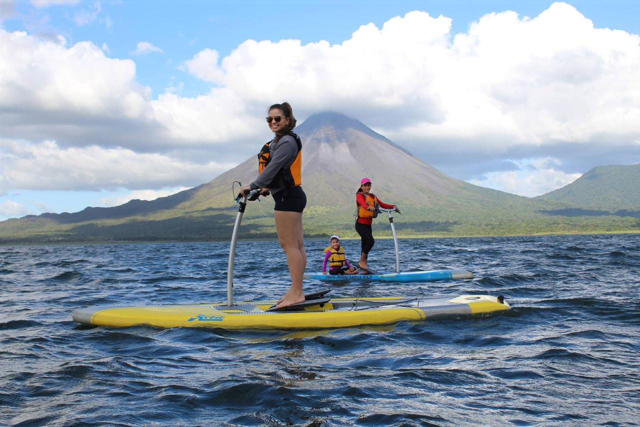 Pure Trek Canyoning & Pedal Board on Lake Arenal