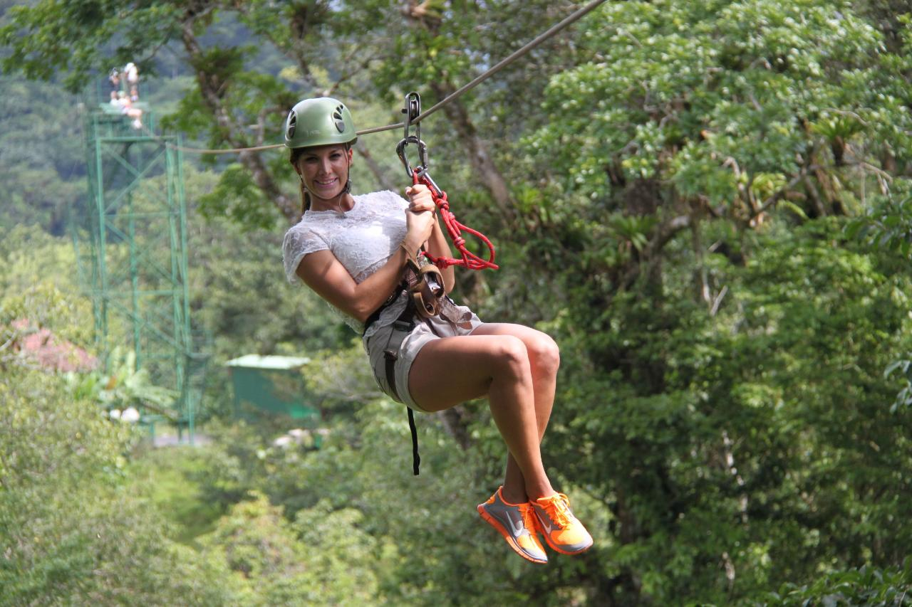 Ziplining and Pure Trek Canyoning