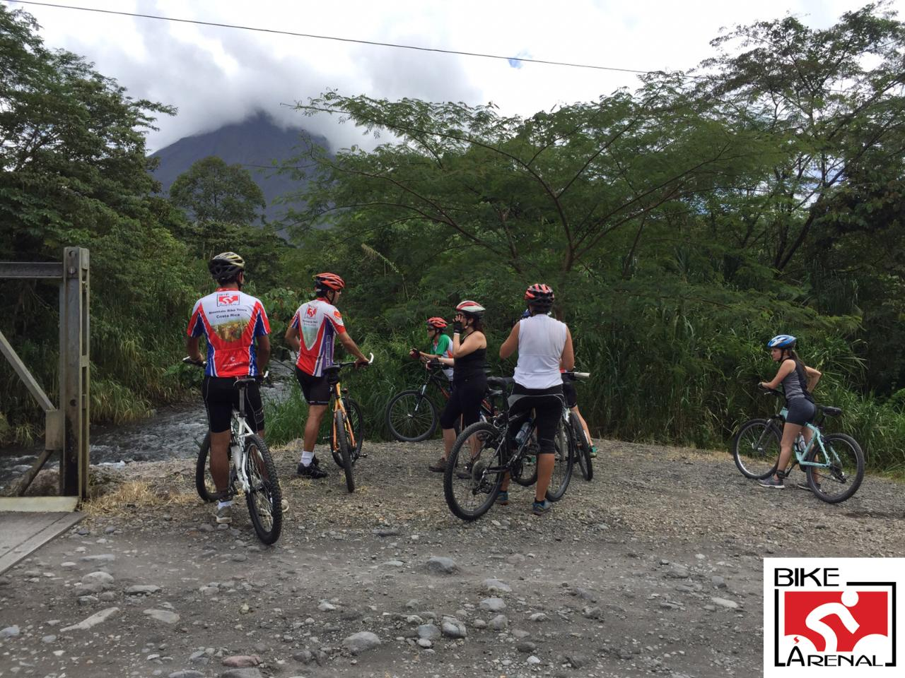 Mountain Biking and Pure Trek Canyoning