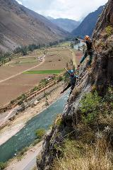 The best and only Via Ferrata & Zipline COMBO (Sacred Valley)