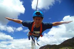 Zipline at Chinchero + 4x4 ATV Huaypo Lake & salt mines