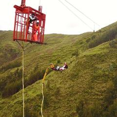 Highest Bungee Jump in Latin America