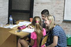 Assist in English School