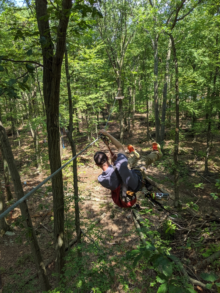 Adventure Ziplines (Adults and ages 12 and up)