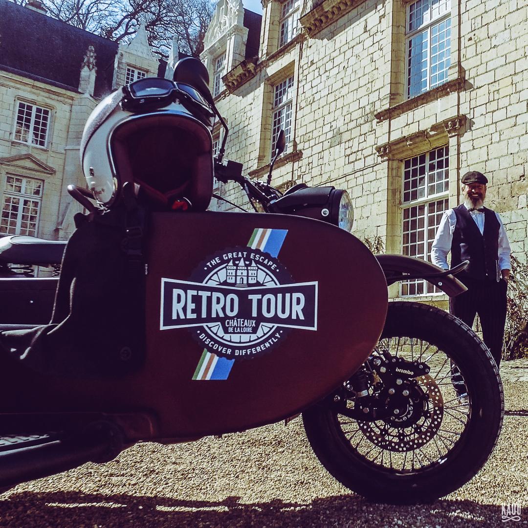RETRO CLASSIC TOUR DEPARTURE FROM AMBOISE
