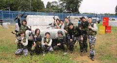 HALF DAY PAINTBALL TEAM BUILDING FOR COMPANIES