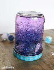 Art Craft- Snow Globe Glitter Jars