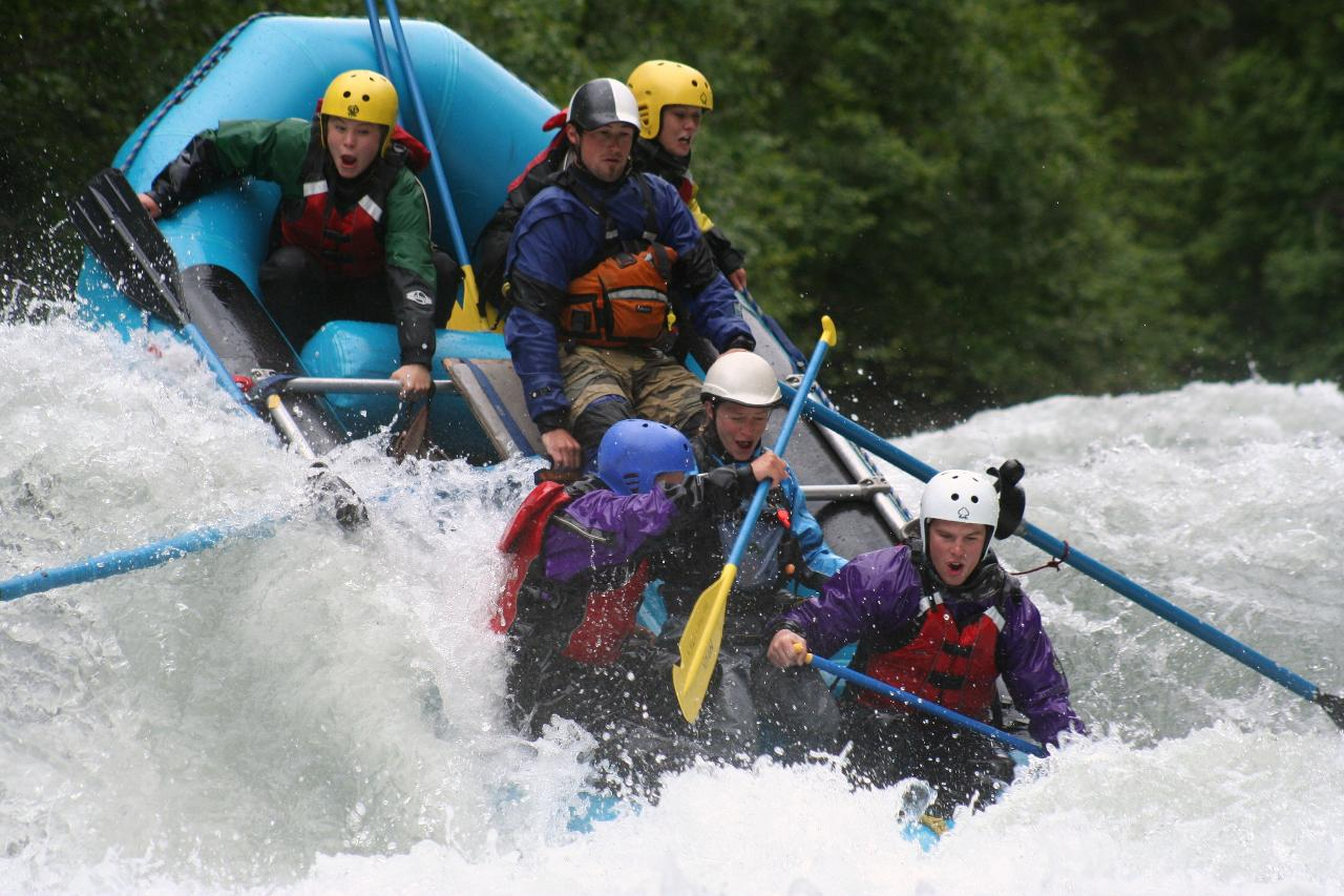 3 Canyon Six Mile Creek Rafting