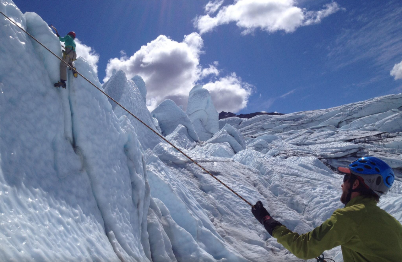 Matanuska Glacier Ice Climbing