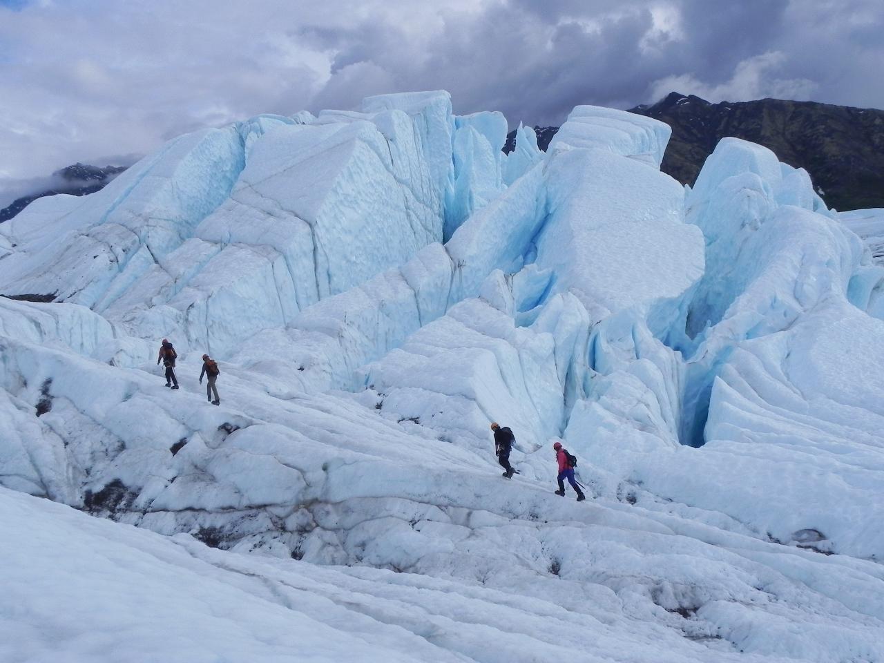 Matanuska Glacier Adventure Trek