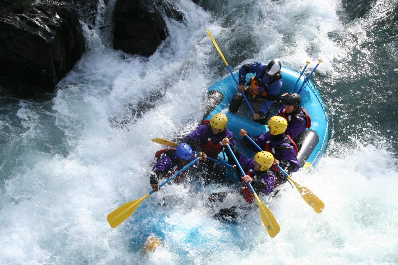 2 Canyon Six Mile Creek Rafting