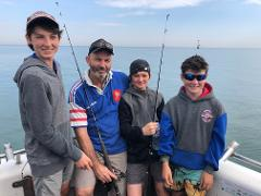 Family Package 5 Hr Fishing Package 2 x Adults  + 2 x Kids