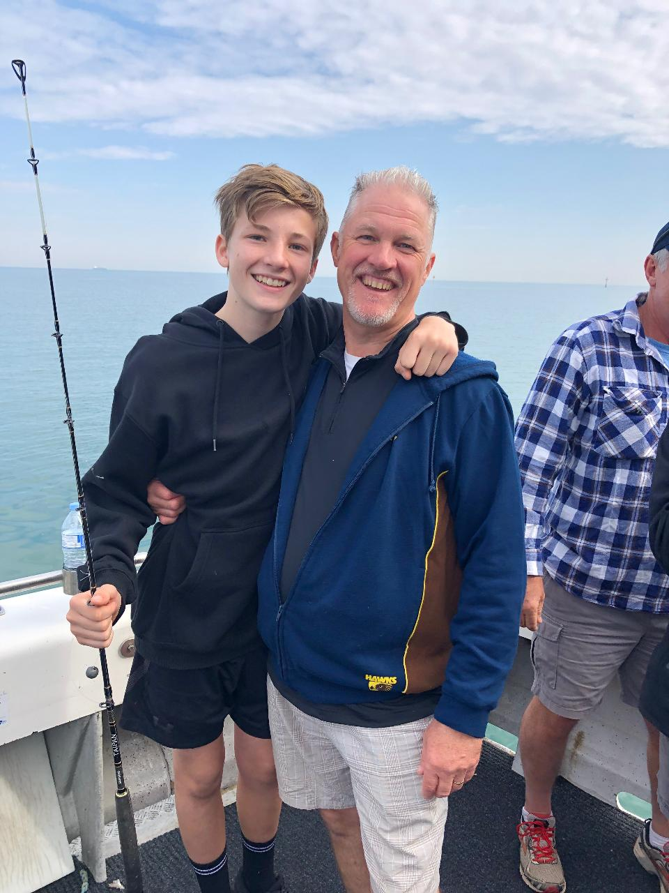 Fishing With  The Old Man ( 1 Adult & 1 Child  7 - 14 years)