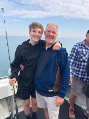 Fishing With  The Old Man ( 1 Adult & 1 Child  7 - 12 years)
