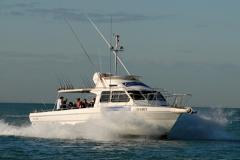 "Private Dawn Fishing Charter  ""Bella Sandro""  with Breakfast 5 hrs 1 - 16 people."