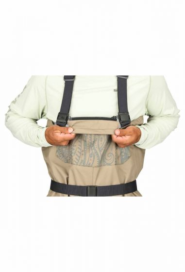 Chest Wader & Wading Boots - Small Simms