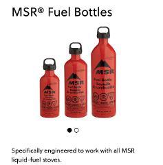 MSR Fuel Bottle - only
