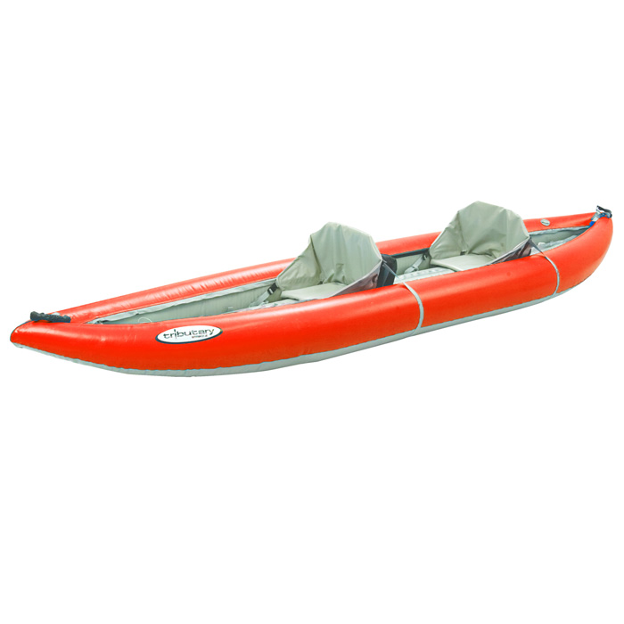 Kayak Inflatable Tandem Strike Tributary (Includes Paddles, PFD, Pump, Carry Bag)