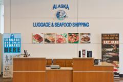 Concierge - ANC Airport Gear P/Up @ AK Lug & Seafood Strg