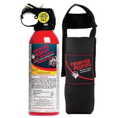 Bear Spray  rental -10oz Counter Assault with Carry Sleeve - 40 ft /8 seconds