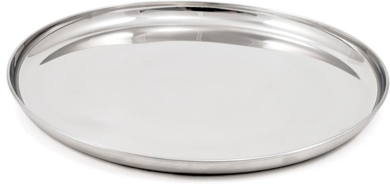 Dining Place Setting - Stainless - Car Camp 1 Person (Plate, Bowl, Cup, Utensils)
