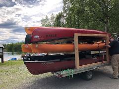 Trailer - Kayak 8x10 - 9 Place Canoe/Kayak Rack
