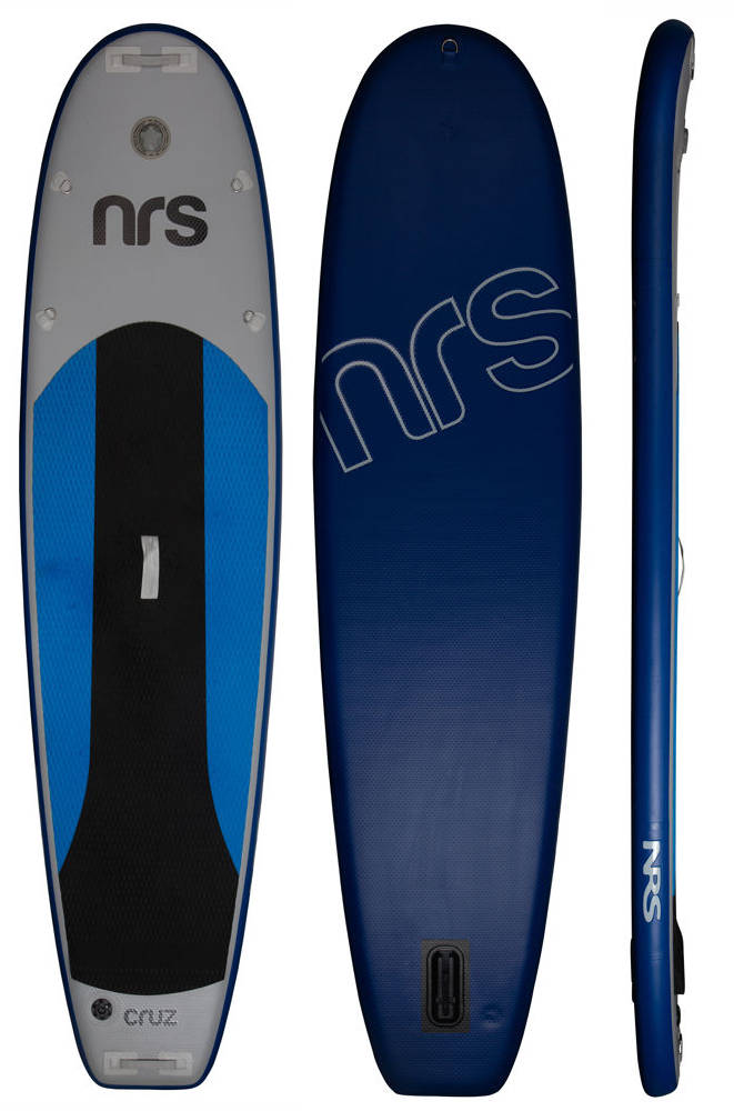 SUP -NRS Cruz XL Model (Paddle, PFD, Pump, Leashes, Carry Bag, 2 leashs Ankle and Wrist, 1 fin)