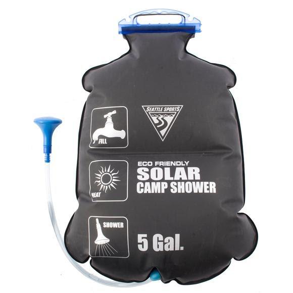Solar Shower - Bag/Shower hose w / Nozzle ( NO  POP UP SHELTER)