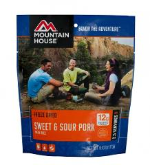 Sweet & Sour Pork with Rice - 2 Servings Mountain House