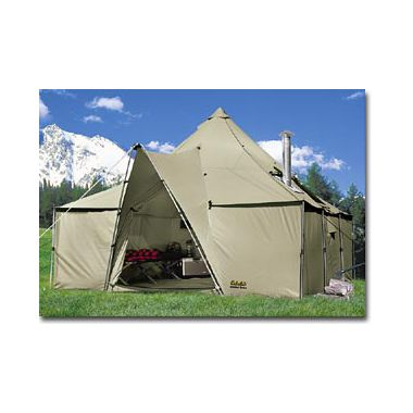 Tent - Cabela Alaknak 12x12  (67 lbs tent/acces + stove weight)