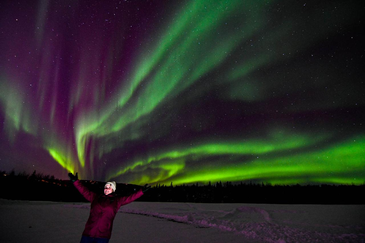 Aurora Tour - Fairbanks  10 pm - 2 am.