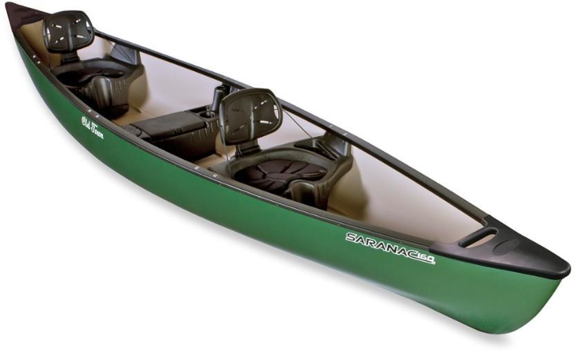 Canoe 14FT Seranac - 2-3 paddles/PFDS/Bilge Pump