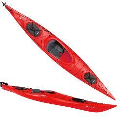 Ocean Kayak - Single Necky/Castine 14 ft W/ Rudder  includes spray skirt, paddle, pfd, bilge pump