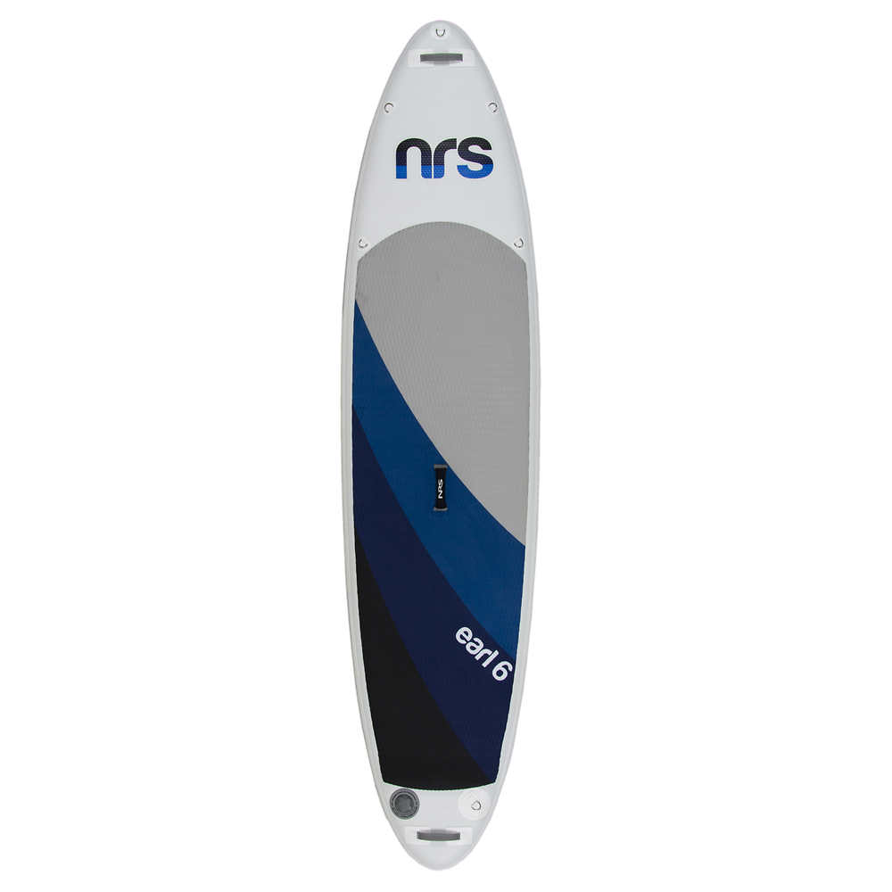 SUP - NRS EARL10'6  Inflatable Paddle Board up to 240 lbs (Paddle, PFD, Pump, carry bag, 2 leashs, 1 fin)
