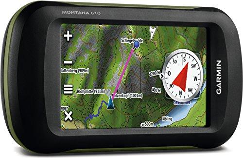 GPS Garmin (Handheld) with detailed AK Topo Map